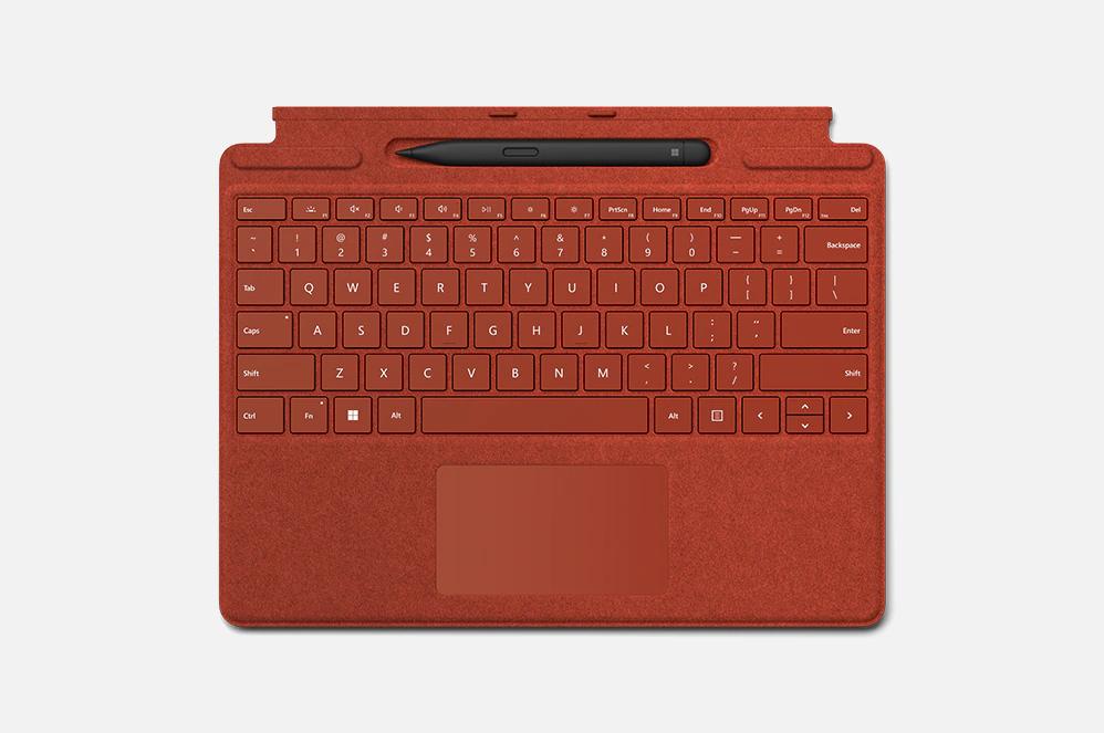 Surface Pro Signature Keyboard_slim pen 2_laptopvang