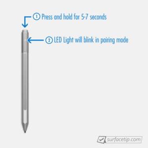 Đưa Surface Pen đến chế độ sẵn sàng kết nối