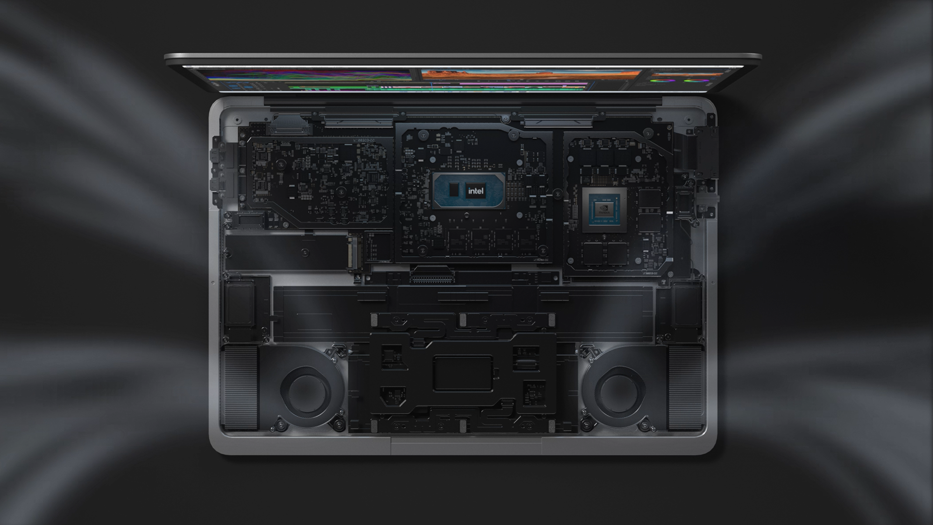 hệ thống tải nhiệt surface laptop studio core i5