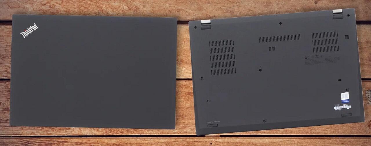 Mặt trước và sau Lenovo ThinkPad T15