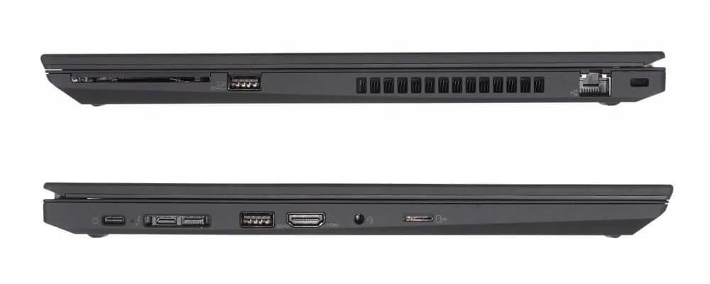 Các cổng kết nối của Lenovo ThinkPad T15