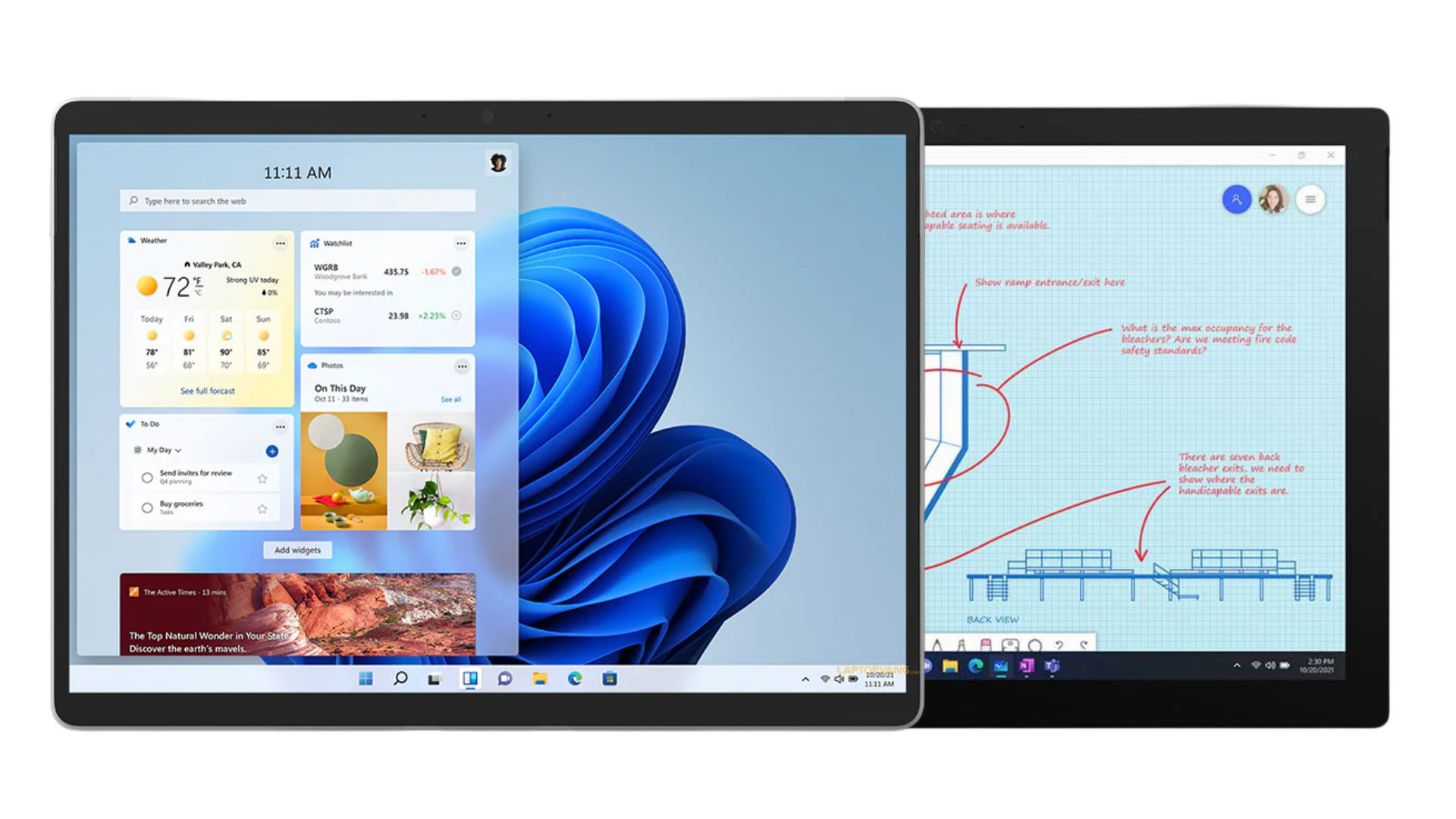 Surface Pro 8 Display Compare