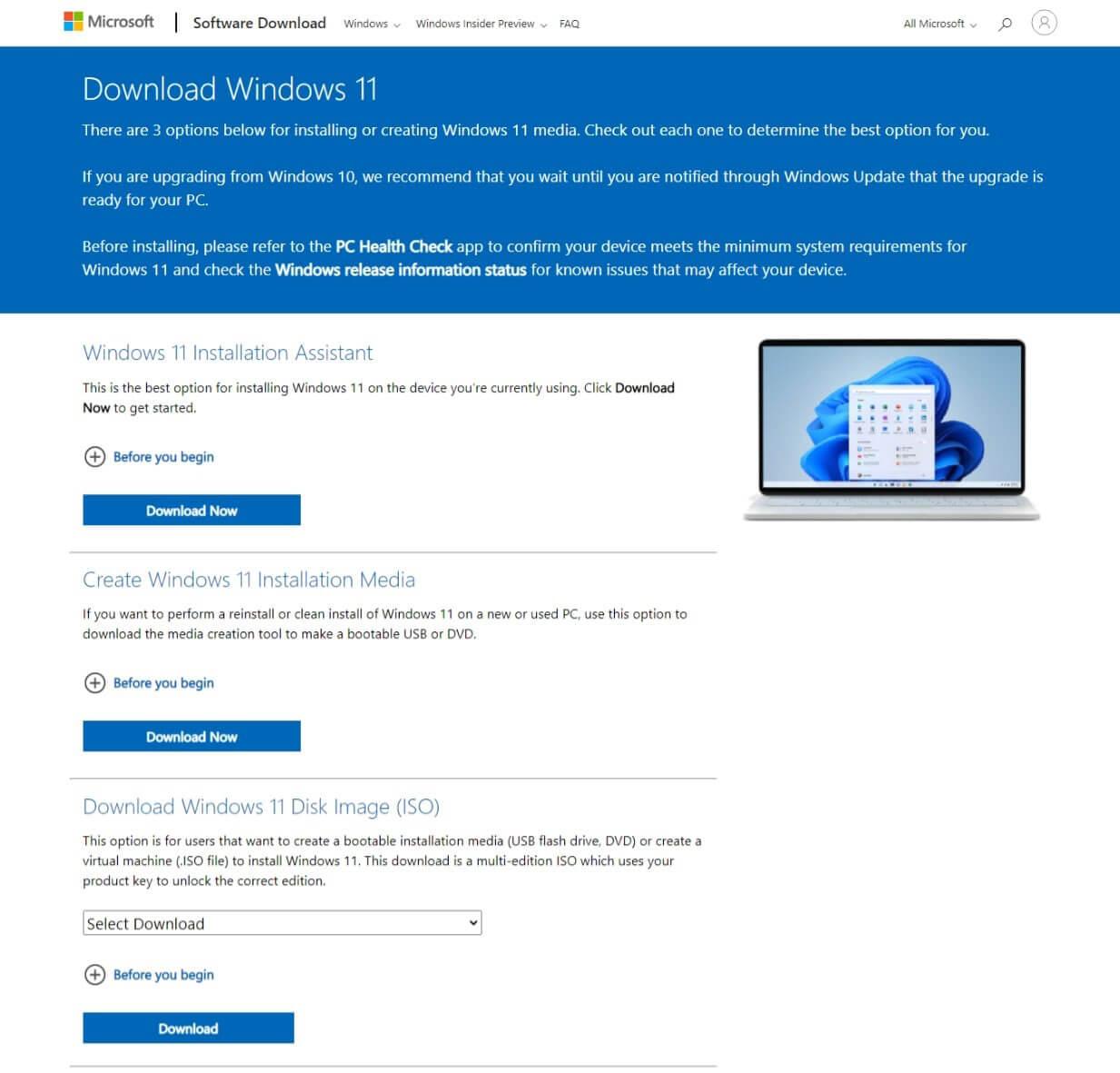 3 lựa chọn nâng cấp lên Windows 11 cho thiết bị